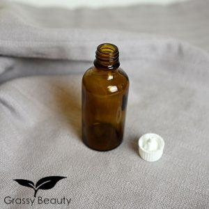 Braunglasflasche, 50 ml