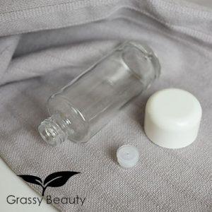 Gesichtswasserflasche Glas 100 ml