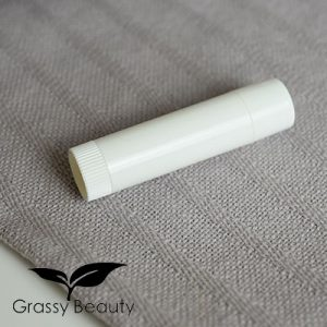 Lippenpflegestifthülse, weiß
