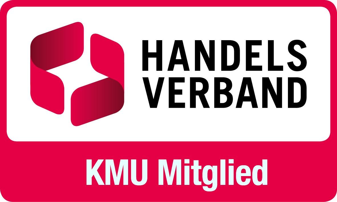 KMU Mitglied Handelsverband Plakette